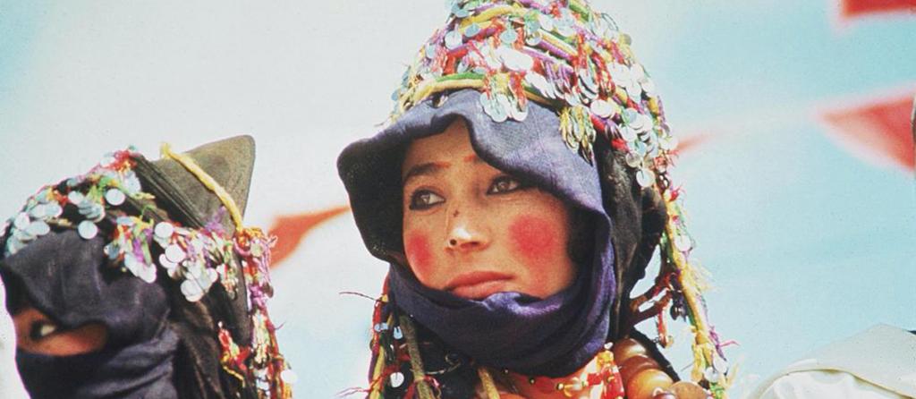 Femme berbere Khol