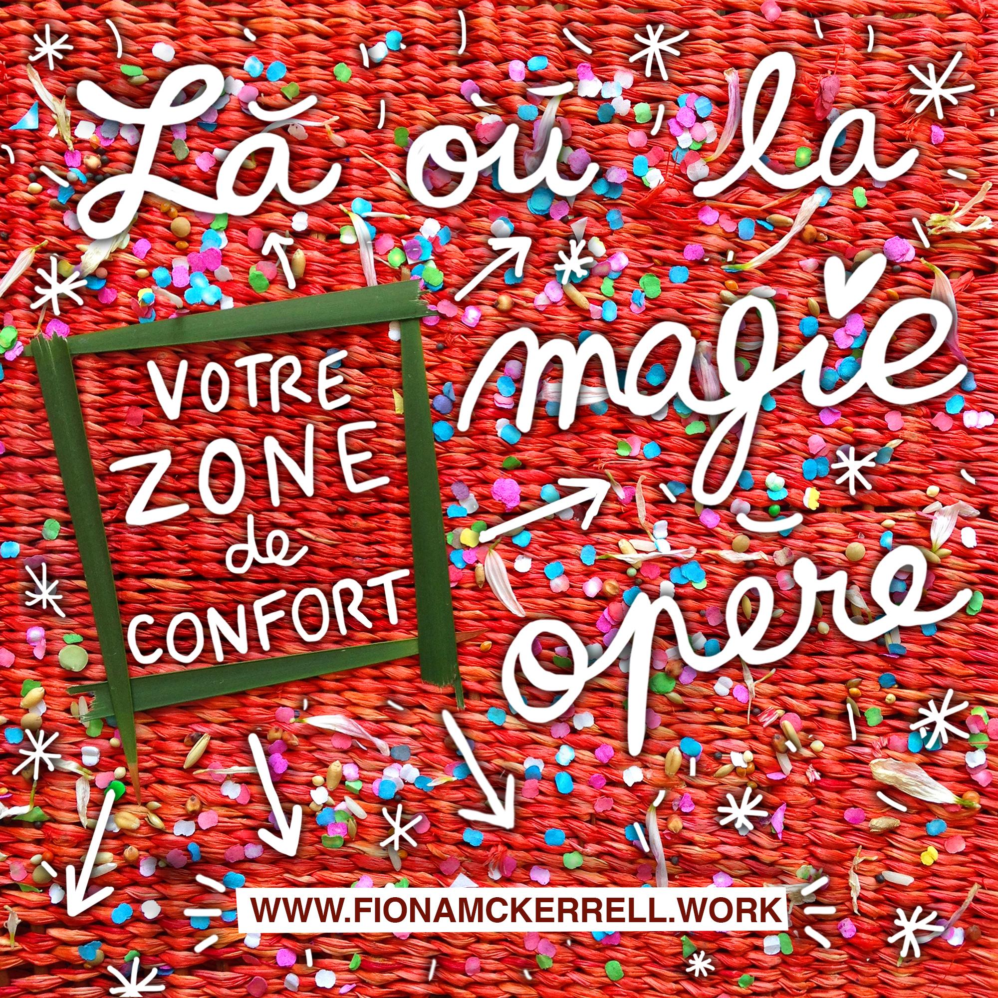 zone confort magie