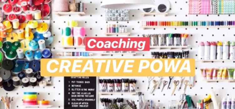 CREATIVE POWA / LE COACHING DE 2 MOIS